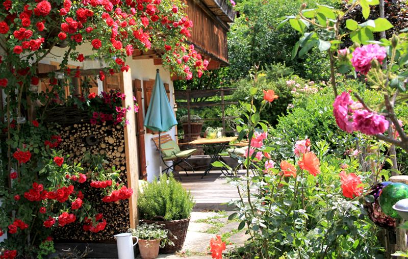 Terrasse Ferienwohnung Müller